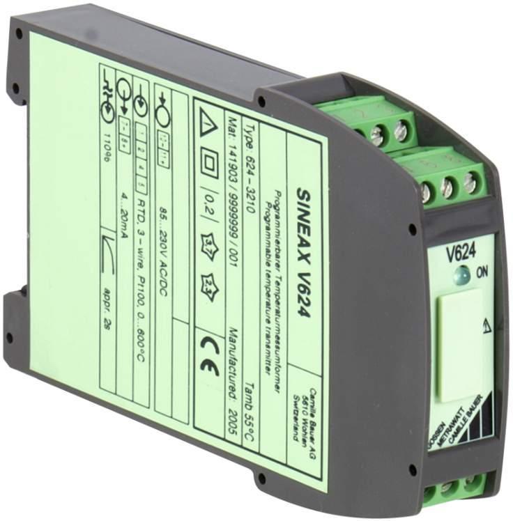 SINEAX V624 - Programmierbarer Temperaturtransmitter