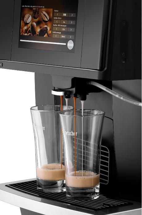 Distributeur autom. de café KV1 Comfort - Code-No.190031