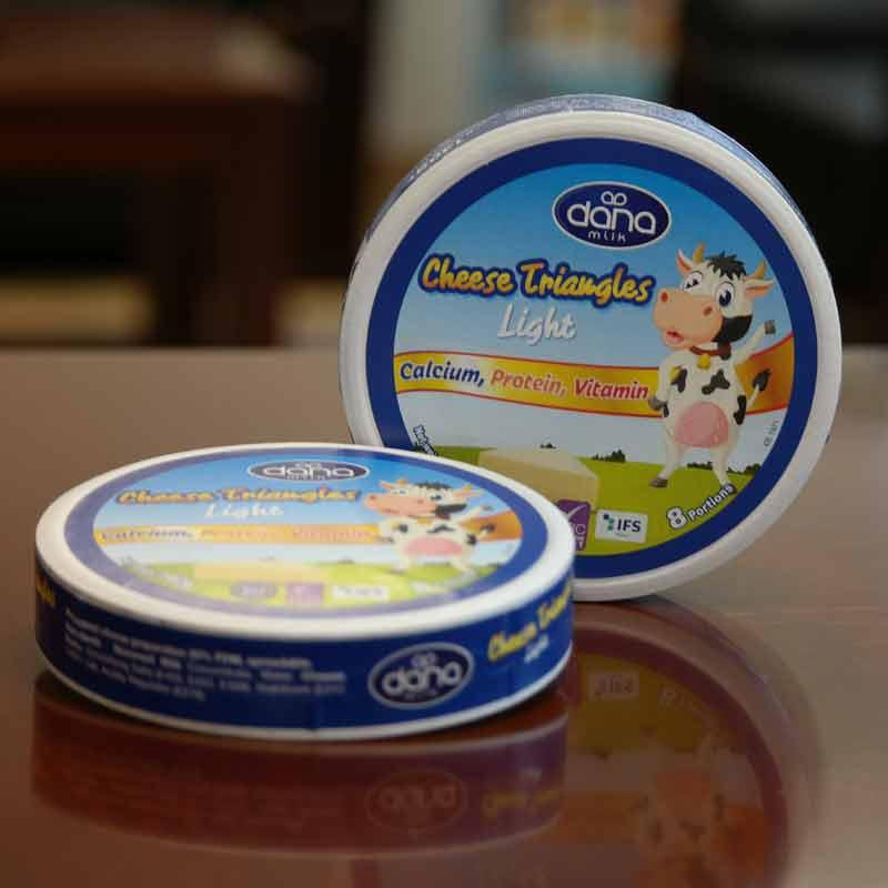 DANA Cheese - Creamy Soft Processed Preportioned Spreadable