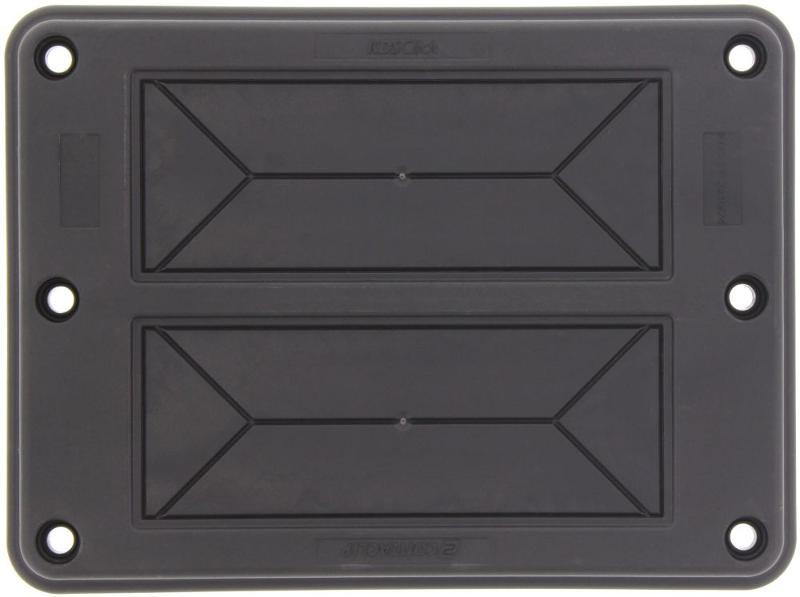 KDS-FP 2x10/24 BK | Flanschplatte - null