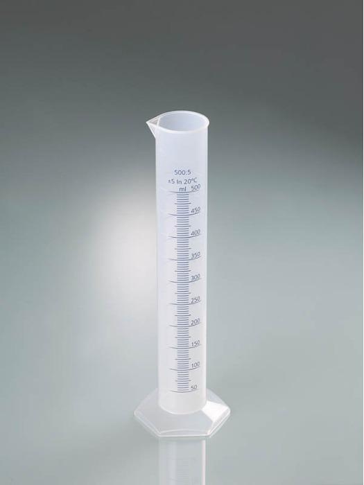 Градуированные цилиндры из ПП, с прозрачной шкалой - Лабораторное оборудование, измерительные приборы