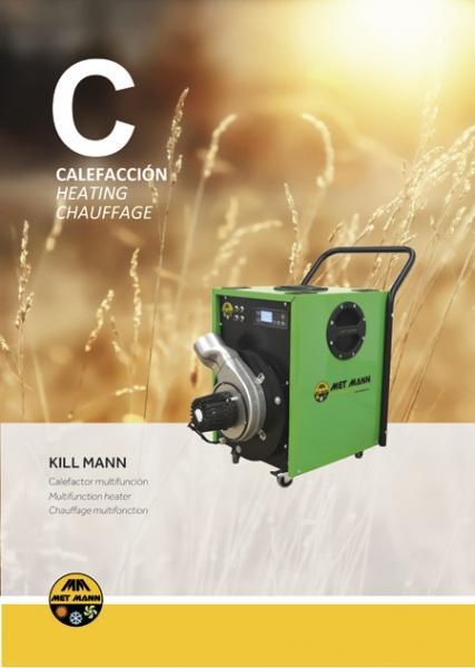 Tratamiento de plagas con temperatura - KILL MANN - tratamiento de plagas con aire caliente a alta temperatura