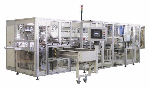 Packaging Machine PAKSIS D7 - Packaging Machine PAKSIS D7: Bagger for Baby Diapers