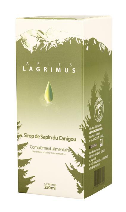 LAGRIMUS - Sirop de sapin du Canigou 250ml - null