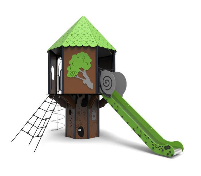 Domek na drzewie 1 - Domek na drzewie