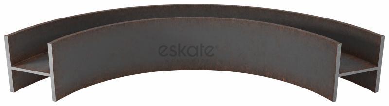 Profilbiegen - HEB-Profile (x-x) - Wir biegen Stahl- und Edelstahlprofile in unterschiedlichen Abmessungen auf Maß!