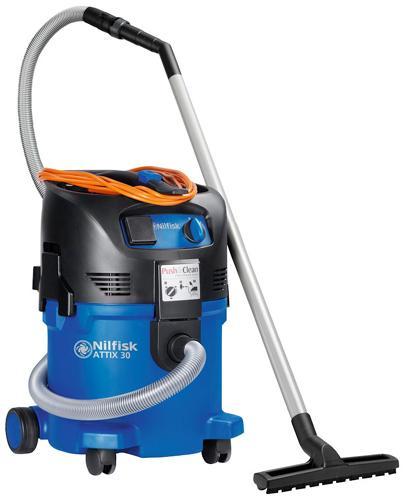 NILFISK ATTIX 30 - Aspirateurs eau et poussière monophasés - Aspirateurs industriels eau & poussières. Cuve 30 litres