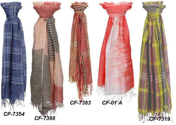 Scarf - Silk, Cotton, Wool, Viscose, etc.