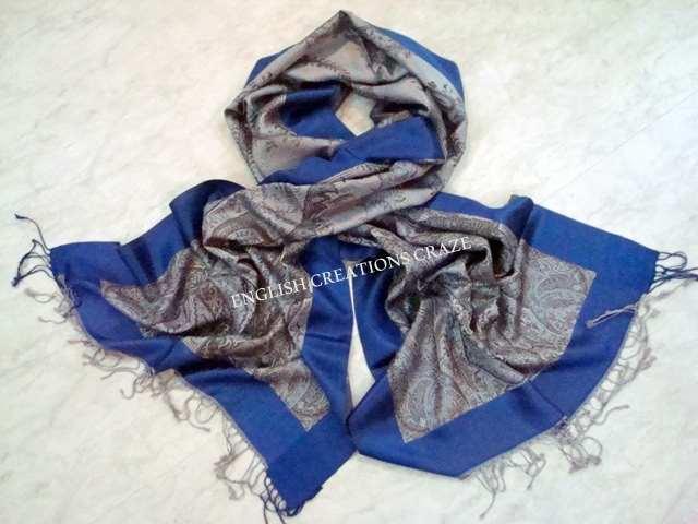 Acrylic Cotton jacquard Scarves - Acrylic Cotton jacquard Scarves