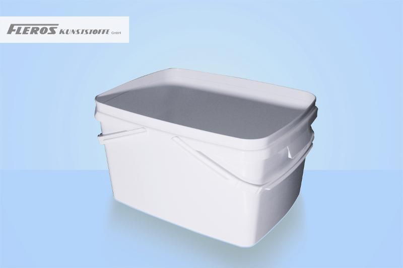Rectangular buckets - FK-E 12.000 bucket, rectangular, PP