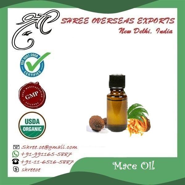 Organic Mace Oil - USDA Organic