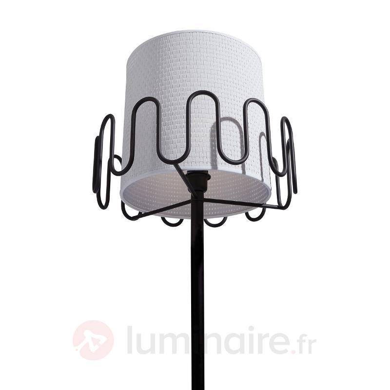 Lampadaire Frilly avec porte-manteau - Lampadaires design