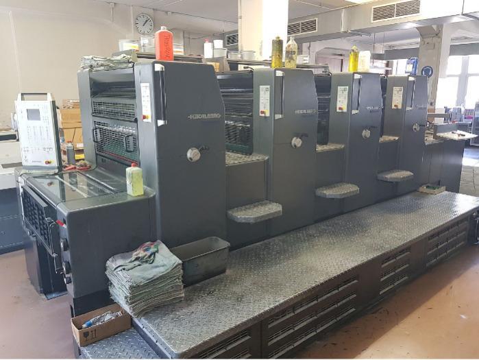 Heidelberg Printmaster PM 74-4 P - Used Machine