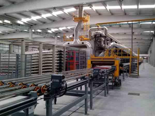 Plasterboard Equipment - Plasterboard equipment and turn-key plants