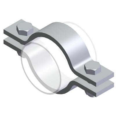 Pipe clamps - Type SV, S235JR, raw