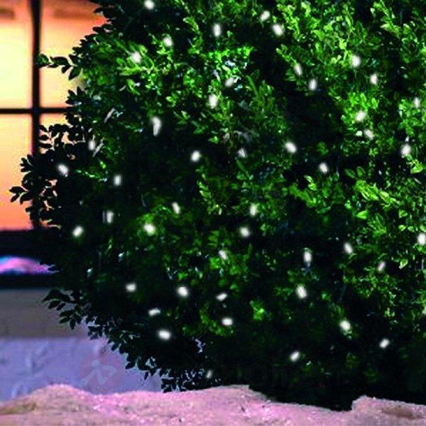 Guirlande lumineuse LED solaire à 100 diodes - Guirlandes lumineuses LED d'extérieur