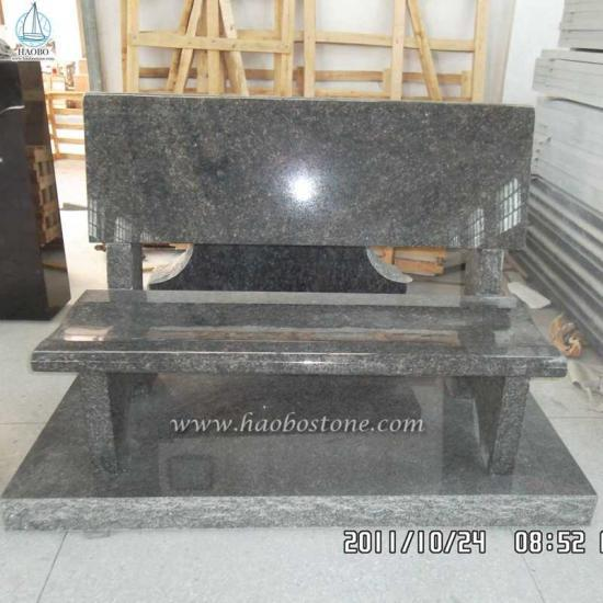 Natural Stone Granite Grave Bench Monuments - Monument Bench
