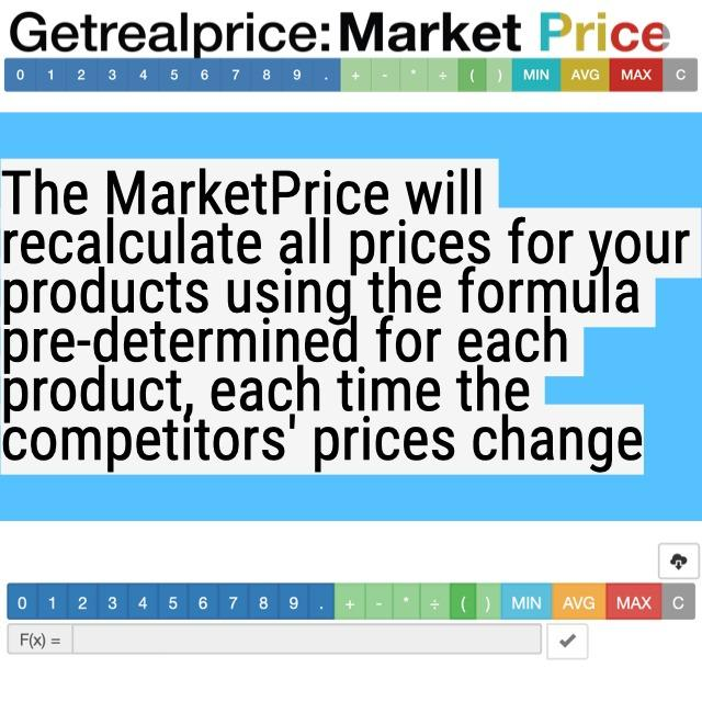 Online tool: Efficient price calculator for your web-shop  - Efficient price calculator (price automat for online stores pricing)