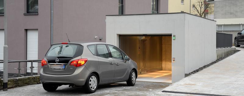 PEGASOS: Garage auto lift met geringe put en beperkte... - Autoliften Eengezinswoning, vrijstaand