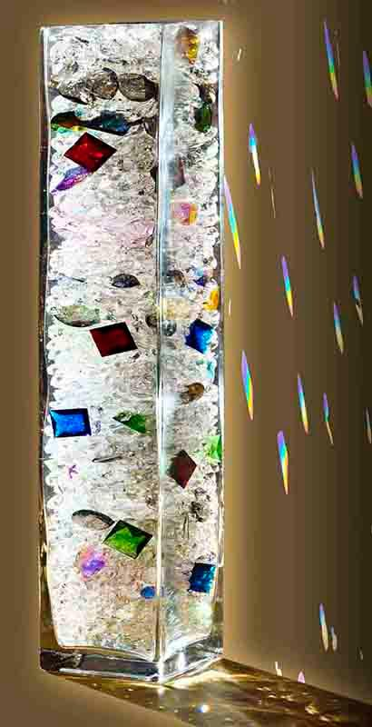 geschliffene Kristalle