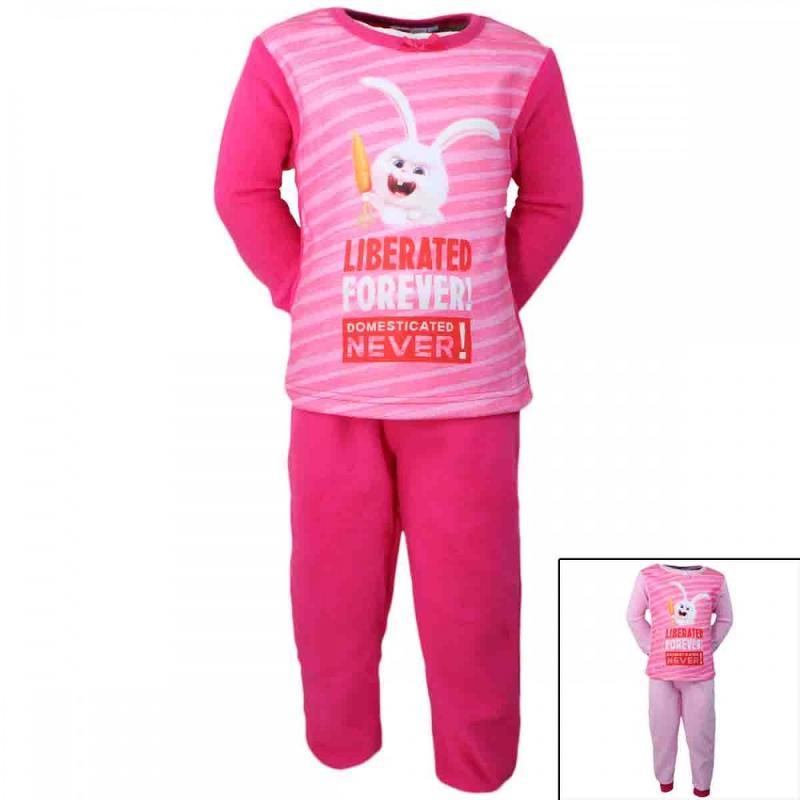12x Pyjamas polaires Comme des Bêtes du 2 au 8 ans - Pyjama