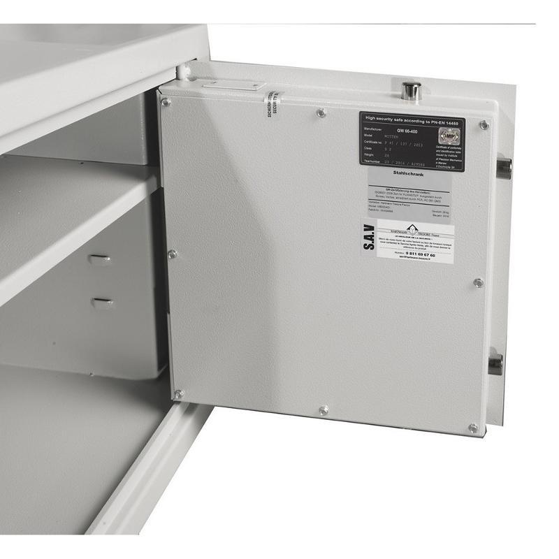 Coffre fort encastrable Hartmann WB 4 - 36 litres - Sécurité des biens et des personnes