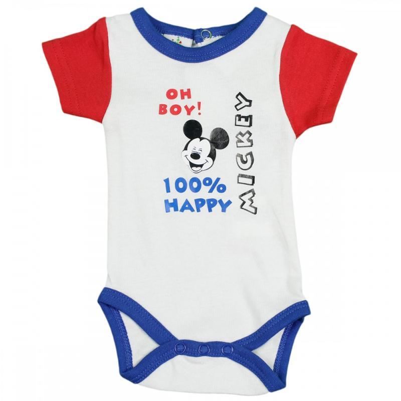 48x Bodys manches courtes Mickey du 1 au 24 mois - Vêtement été