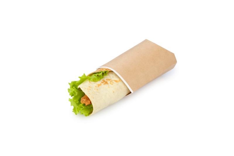 Pillow pack - Kraf pack for a gyro sandwich