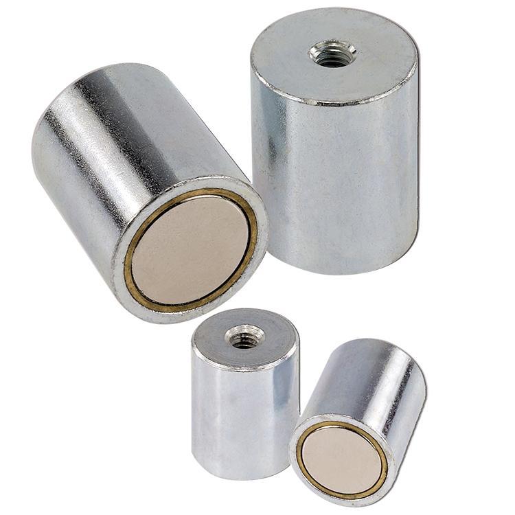 Zylindrische Magnetsysteme mit - null