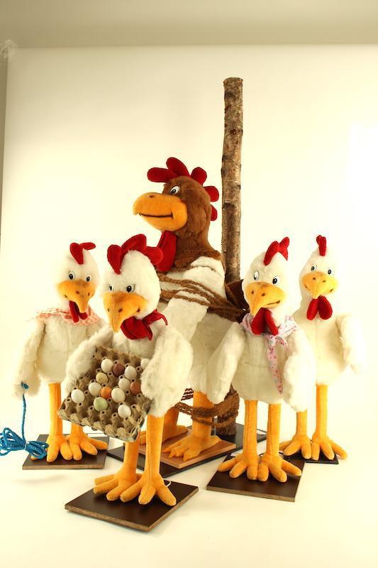 Chicken- chicken dance around the stake - null