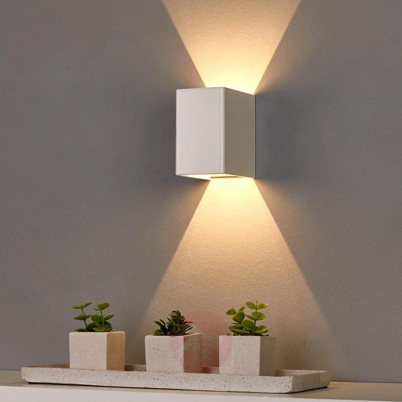 White LED wall lamp Mirco - Wall Lights