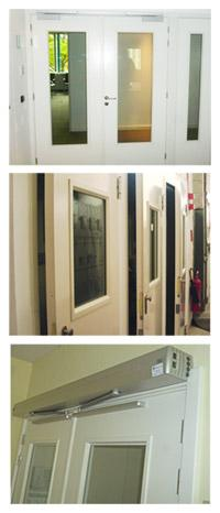 Des portes anti-explosion - null