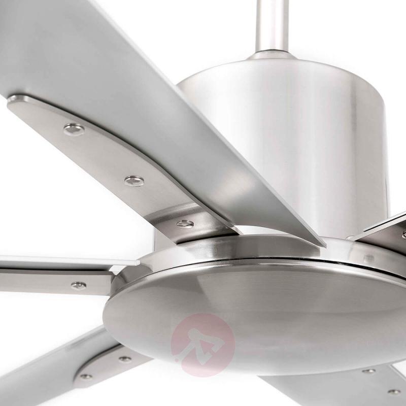 Ceiling fan Andros matt nickel aluminium - fans