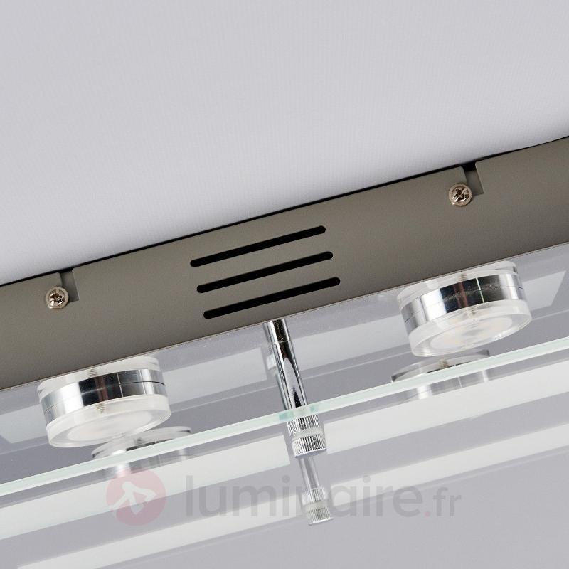 Plafonnier LED Karlina rectangulaire - Plafonniers LED