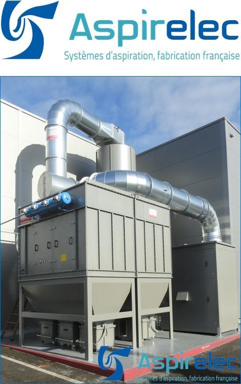 Filtre de type ASAC • Filtre à cartouches décolmatage auto - Filtre de type ASAC • Filtre à cartouches décolmatage automatique