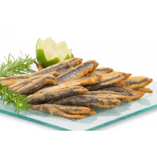 Producteur Artisan - L'anchois Infarinata Surgelé MSC - IFS - Produit de la mer : Anchois infarinata surgelé en carton d'1 kilo - MSC & IFS