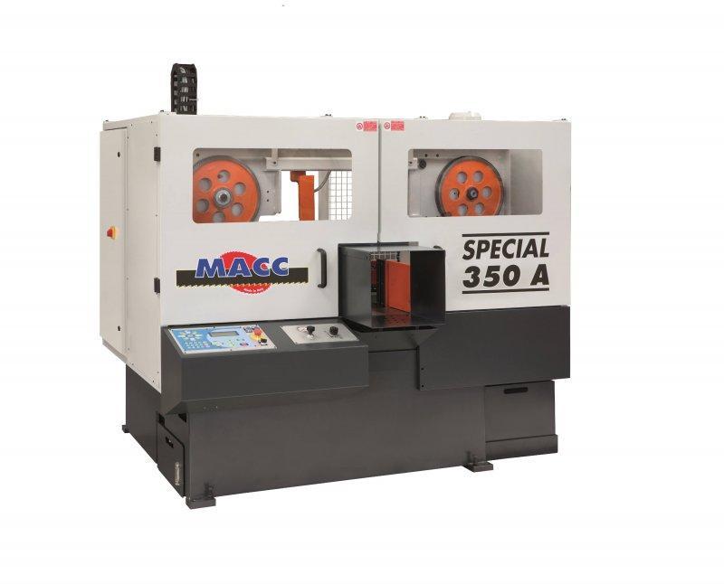 SPECIAL 350A – Bandsägeautomat - SPECIAL 350A – Vollautomatischer Bandsägeautomat