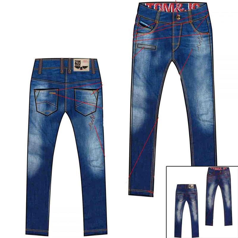 pantalon jean enfant