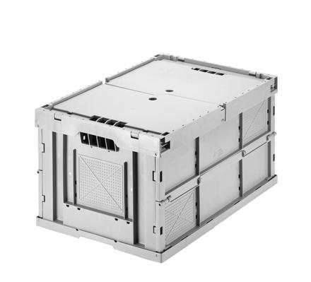 Folding containers - Folding container with lid