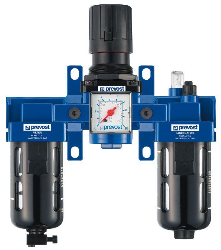 FRL (Filtre Régulateur Lubrificateur) - Gamme ALTO - PREVOST