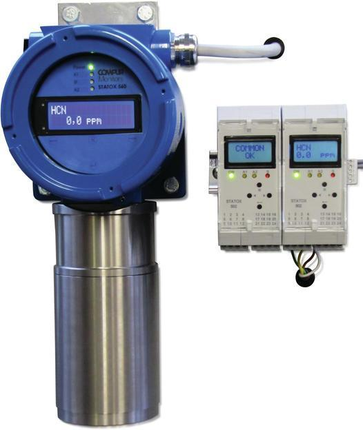 Gas Detector Self Test with Gas