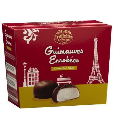 Guimauves enrobées chocolat noir - Guimauves au chocolat noir