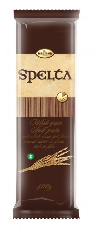 SPELT wholegrain pasta - Spelta Spageti Dark Lankstymas