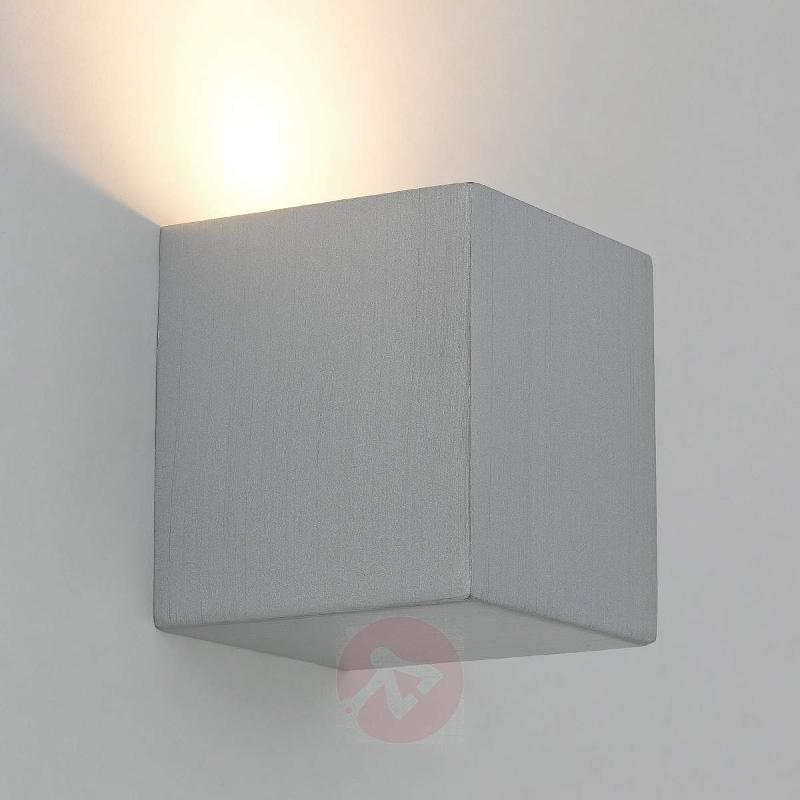 Brushed LED wall light Viviana - Wall Lights