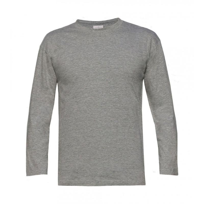 Tee-shirt col doublé - Manches longues