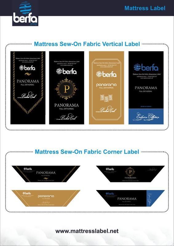 Mattress Label & Mattress Sticker & Bed Label & Bed Sticker - Mattress Label