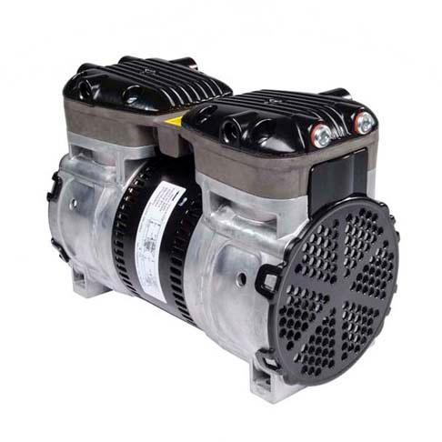 Reciprocating/Rocking Piston Compressors and Vacuum - Available in standard, twin, and miniature styles