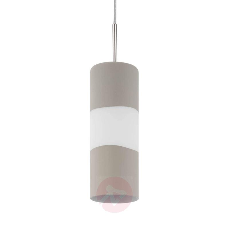 Modern Lagonia hanging light with concrete décor - indoor-lighting