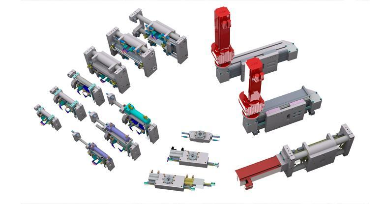 Handling and gantry systems - gantry axis systems