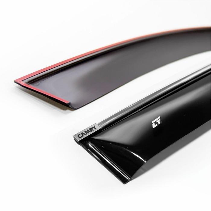 Window visor  - «Eurostandard Chrome» Series